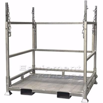 bulk-bag-stand-with-sheet-metal-base
