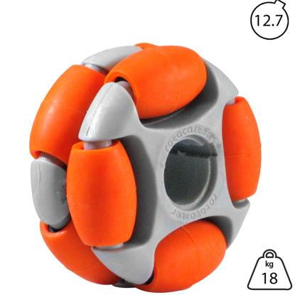 rotacaster-48mm-double-65a-medium-polyurethane-roller-12.7mm-keyed-bore