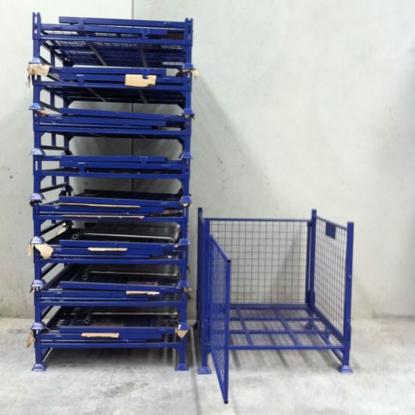 Picture of Stillage Cage Pallet Cage 1000kg Swing Door