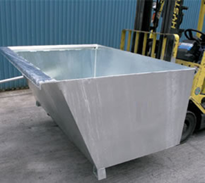 Picture of Forklift Self Dumping Bin 1.35m3 1000kg