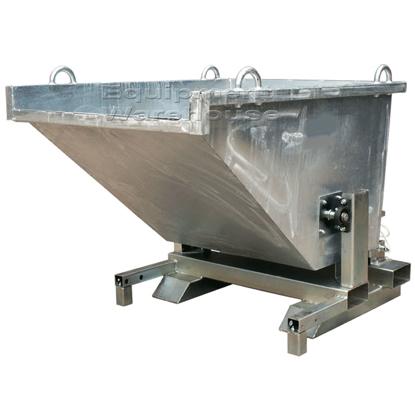 Picture of Rollover Bin 1500kg Zinc 0.77m3